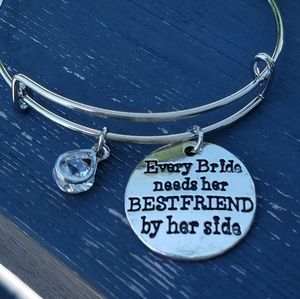 Jewelry - Every bride needs her BF by her side charmbracelet